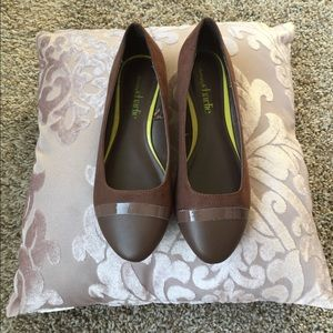 Charming Charlie flats, Brown, size 8 like new